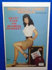 ~~ PERSONALITY COMICS PRESENTS: BETTY PAGE & JENNIFER CONNELLY ~ 1991 ~~