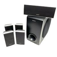SONY 5.1 Surround Sound Home Cinema Speaker System - Tested & Working - VGC