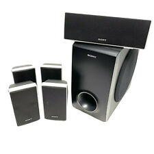 SONY 5.1 Surround Sound Home Cinema Speaker System - Tested & Working - VGC
