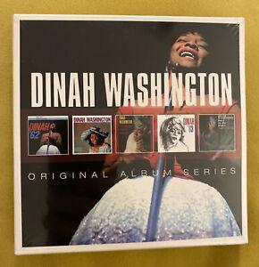 DINAH WASHINGTON - ORIGINAL ALBUM SERIES 5 CD NEW SEALED