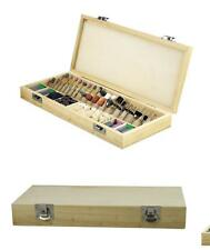 228-Piece Dremel Rotary Tools Accessories Kit Wooden Storage Box NEW Free Ship