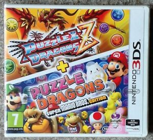 PUZZLE & DRAGONS Z + SUPER MARIO BROS.EDITION NINTENDO 3DS GAME new & sealed UK