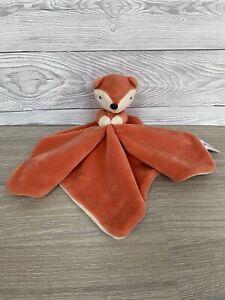 Baby TU @ Sainsburys Orange Fox Blankie Comforter Soft Toy Blanket Baby