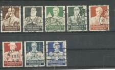 Nazi Germany 1934 parial serie used stamps . Professional Trades