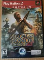 PS 2 Medal of Honor: Rising Sun (Sony Playstation 2, 2004) PS2 CIB Greatest Hits