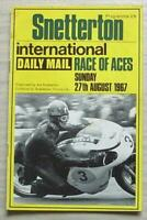 SNETTERTON 27 Aug 1967 INTL DAILY MAIL RACE OF ACES Motorcycle Programme