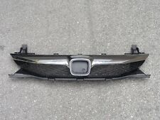 Chrome Front Upper Grille Grill Replacement For Honda Civic Sedan 2009-2011