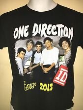 ONE DIRECTION TOUR 2013 MEDIUM T-SHIRT POP OUT OF PRINT HARRY STYLES