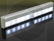 10LED Motion Detection Sensor Automatic Closet Wardrobe Stairs Night Light Lamp