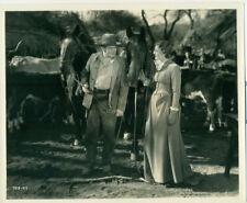 EDWARD ARNOLD BINNIE BARNES Sutter's Gold Orig 1936 Movie Photo Riding Horseback
