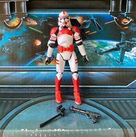 STAR WARS FIGURE 2005 ROTS COLLECTION CLONE SHOCK TROOPER