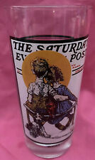 Listing (1) Norman Rockwell Saturday Evening Post Glasses Arby's The Spooners.