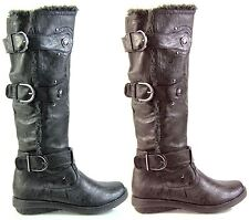Unbranded Zip Synthetic Leather Casual Boots for Women