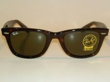 New RAY BAN Original WAYFARER Sunglasses Tortoise  RB 2140F 902 G-15 Lenses 52mm