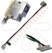 HP ChromeBook 14 N2840 DC Power Jack Socket w/ Cable Connector Harness