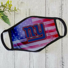 New York Giants Face mask American Flag Football Cloth mask Three layers