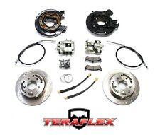 TeraFlex Rear Disc Brake Conversion Kit w/ E-Brake Cables 97-06 Jeep Wrangler TJ
