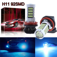 H11 H8 H9 H16 4014 92SMD LED Fog Light Conversion Kit PLUG N PLAY 8000K Ice Blue