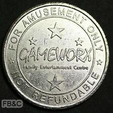 Gameworx Family Entertainment Centre Queensland Token
