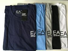 Emporio Armani EA7 Mens Crew Neck Short Sleeeve t shirt 100% Cotton