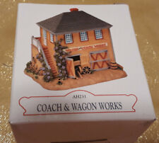 """Liberty Falls Collection """"Coach & Wagon Works"""", 2001, Ah231, Pre-owned"""