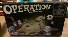 a Nightmare Before Christmas USAopoly Operation Silly Skill Game 2011