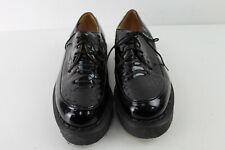Geoge Cox X purificada Negro Zapatos De Plataforma Talla 7