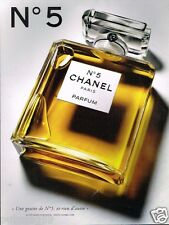 Publicité advertising 2013 Parfum N°5 Chanel
