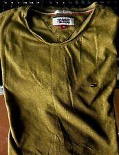 Mens Tommy Hilfiger crew neck short sleeve  t-shirt size M slim fit OLIVE