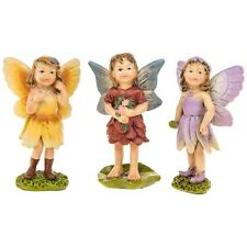 Magical Fairy Glade  Fairies Set of 3 Figurines Ornament