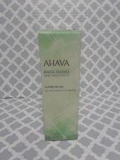 Ahava Mineral Radiance Cleansing Gel 3.4 fl oz New