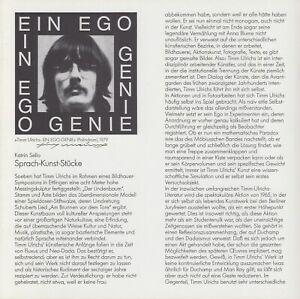 TIMM ULRICHS --- original signiert - A6#29a
