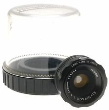 NIKON ENLARGING LENS EL NIKKOR 1:4 f=50mm M39mm THREAD ORIGINAL CASE EXCELLENT