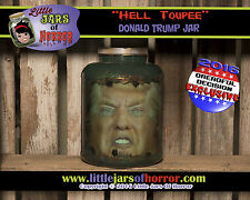 Donald Trump Head in Jar-Horror Art / Halloween Decor / Haunted House Prop-Funny