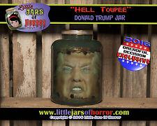 Donald Trump Head in Jar-Horror Art / Halloween Decor / Haunted House Prop-Funny