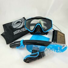New listing Adult Snorkel Set Wide View Tempered Glass Panoramic Diving Kraden Seaview
