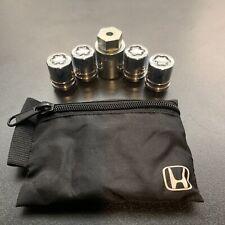 Honda/ Acura Wheel Locks Set Oem . 19mm
