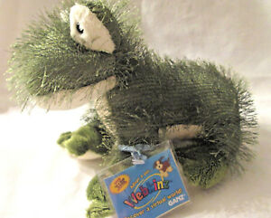 NEW WEBKINZ RETIRED TY FUZZY THORNY FROG WITH SEALED CODE SUPER SOFT & CUTE