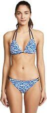 Nanette Lepore Bikini Set Talavera Blue Mosaic size small NWT