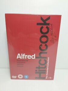 Alfred Hitchcock The Essential Collection DVD Box Set new sealed Region 2 & 4