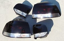 10-14 VW GOLF MK6 OEM CUSTOM Smoked Tail Lights Black Painted Tinted GTI non led