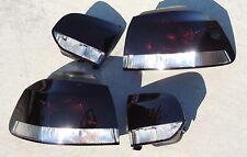 10-14 VW GOLF MK6 OEM CUSTOM Smoked Tail Lights Black Painted Tinted GTI non led