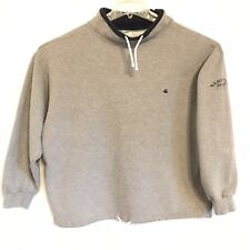 United Colors Of Benetton Sport Sweat Shirt Drawstring Neck & Waist MENS XL