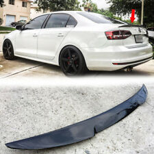 Carbon Fiber For Volkswagen VW 2011-2017 JETTA MK6 Sedan V-Type trunk spoiler