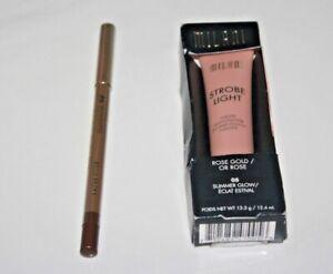 Milani Strobe Light Liquid Highlighter Rose Gold #05 Summer Glow In Box + Gift