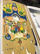New Old Stock Perfect Gottlieb Diamond Jack Pinball Playfield