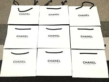 NEW Authentic CHANEL White Paper Shopping Bag Gift 9x7x3 from Paris