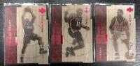 1998 Michael Jordan Upper Deck Hardcourt /2300 Chicago Bulls HOF LOT X3 NM-MT