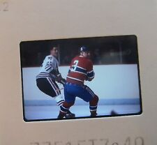 J C TREMBLAY Montreal Canadiens CLIFF KOROLL CHICAGO BLACK HAWKS SLIDE 6