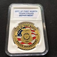 """F11 NEW YORK CITY /""""NYC/' NYFD FIRE DEPARTMENT Challenge Coin w Case"""